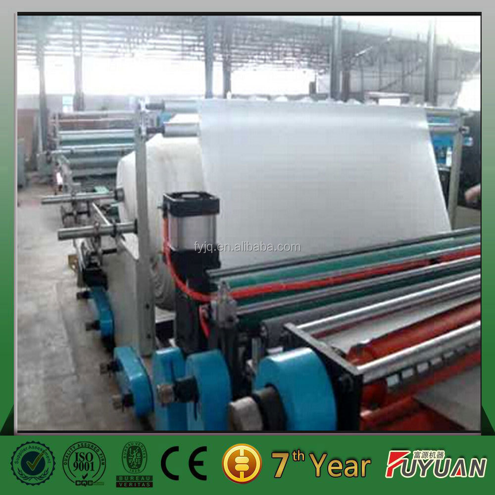Washing room used toilet paper small roll making machines