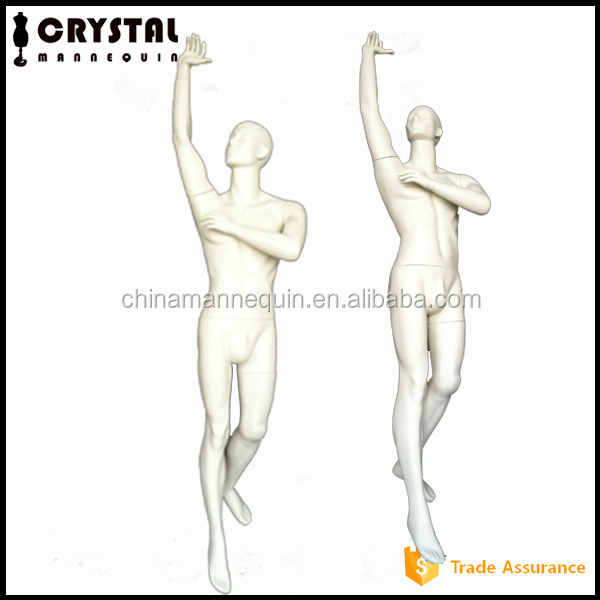 Fiberglass Muscle Male Sports Mannequin