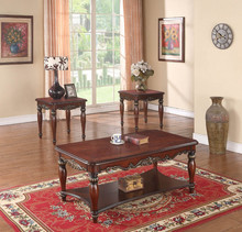 furniture living room set solid wood fancy coffee table and end table