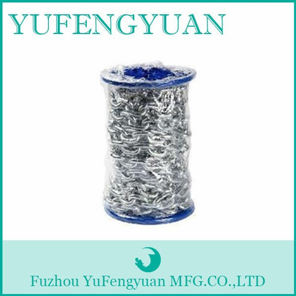 Industrial G80 Heavy Duty transmission chain/galvanized steel link chain