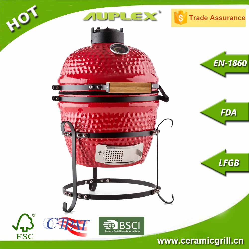 "Safety Grill Design For Balcony Steamboat Grill 13"" Barbecue Grill Pizza Stone Oven"