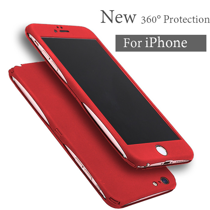 New arrivel lighter dustproof plastic waterproof cell phone case for iphone 6