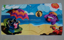 Quick-Dry Feature and Children Group wrap towel for beach