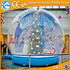 Outdoor large christmas snow globe inflatable christmas decoration