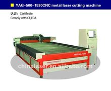 hot sale metal laser cutting machine GWK1530 nd yag laser price cheapest