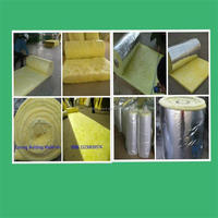 CONING INSULATION glass wool building material/glass wool applied in steel structure