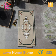 High quality long duration time foyer marble medallion floor with high quality
