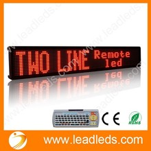 NEW ADVERTISING SIGN P7.62 REMOTE CONTROL OVER 99 MESSAGES LED MOVING ELECTRONIC BANNER DISPLAY