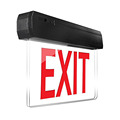2017 hot new products wall mounted emergency exit sign