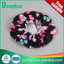 Top selling colored cheapest plastic shower cap