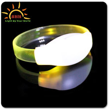 2016 New products Wholesale Birthday Party Suplies LED TPU Flashing Bracelets