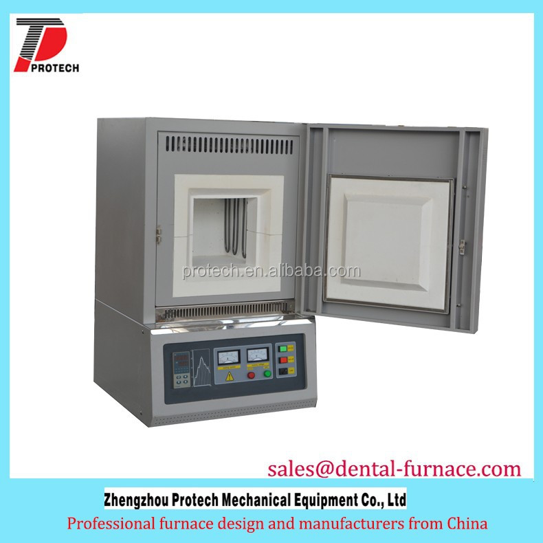 high temperature mini electric resistance muffle furnace for ceramic sintering
