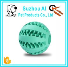 Eco-friendly Small Large Non-toxic Natural Rubber Pet Bird Dog Cat Ball Toy