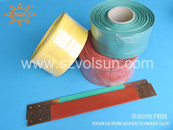 Busbar Insulation Black Flexible Piece/Continuous 24KV Heat Shrink Tube