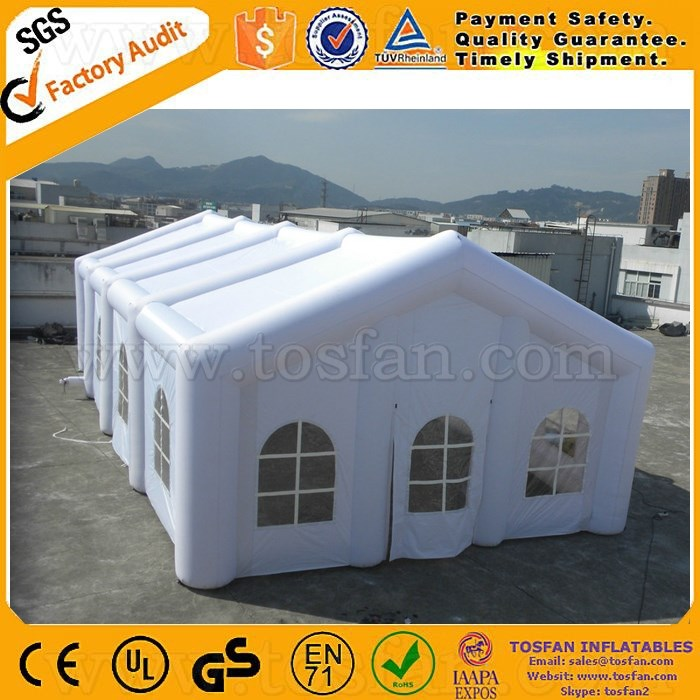 Cheap giant inflatable tent inflatable air wedding tent inflatable lawn tent F4070