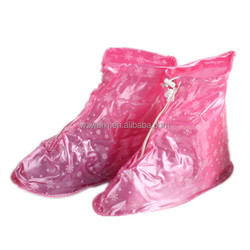 Recycling Rainy Day Sweet Day Unisex PVC Waterproof Shoe