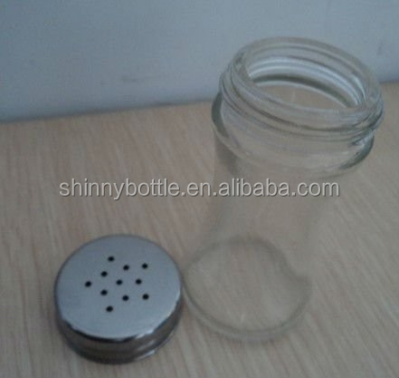 glass spice bottles for India spice storage