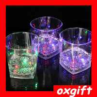 OXGIFT Induction Quartet glass beer mug color creative romantic Valentine luminous color cup red wine