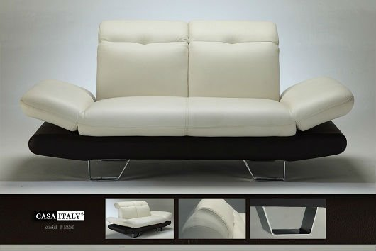 Casa Italy Leather Sofa F 3324