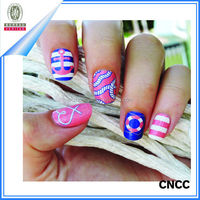 2015 Colourful Gel Nail Art Supplier Nail Wraps Nail Sticker