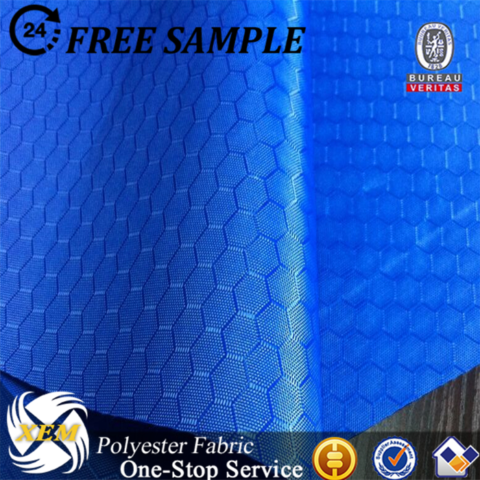 Factory outlet hexagon ripstop oxford fabric