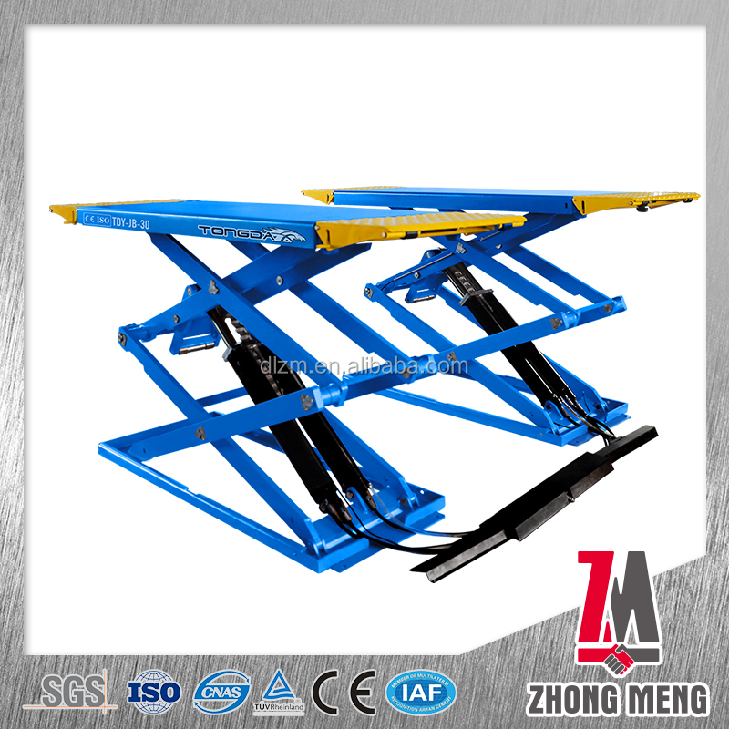 CE Certification and Mini Tilting Car Lift Type hydraulic car post lift