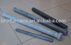 High temperature sic thermocouple protection tube for laboratory furnace