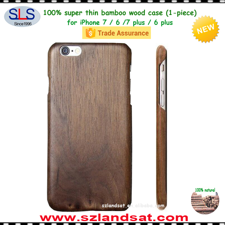 2017 New ultra thin aramid carbon fiber kevlar bamboo wooden pc tpu mobile phone case for iphone 6 7 plus