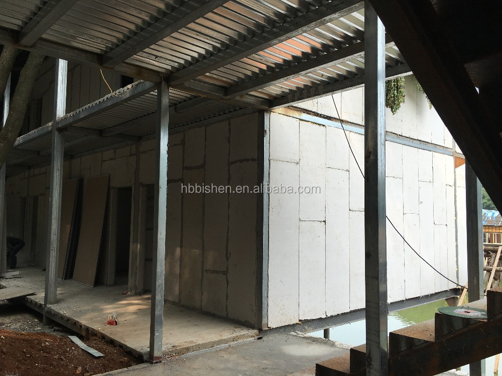 High Strength Expandable Polystyrene EPS Sandwich Wall Panel for Apartment Building Panel