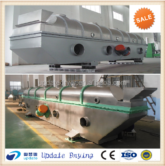 granulated sugar vibrating Fluidized Bed Drying machine