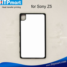 2016 sublimation products plastic blank phone case cover for sony Z5
