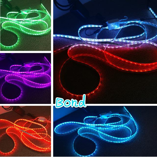 5m rgb led strip set 5050 with rgb strip led rf controller