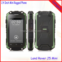 High Quality Mini Very Small Size Touch Screen Mobile Phone MTK6572 Dual Core Dual Sim IP54 Waterproof Andorid Phone