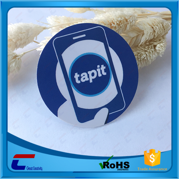 Free Samples MIFARE Class 1k Nfc Tag For Mobile Phone Payment
