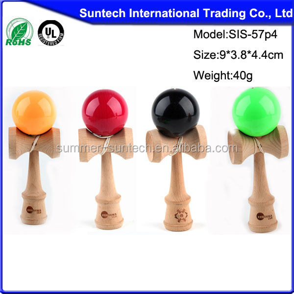 wooden 5 cup kendama cheap kendamas for wholsale