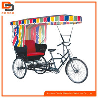2016 hot sale battery powered auto electric pedicab for passenger electric tricycle e-rickshaw