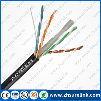 CCA BC 23AWG jelly filled UTP CAT6