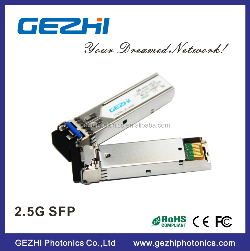 SH Link large stock optical module 1310nm DFB/PIN 20km 2.5g sfp transceiver