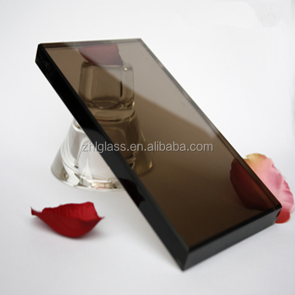Bronze Silver Coated Mirror / Tinted Float Glass / Colored Glass