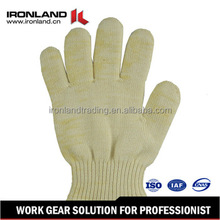 wholesale cheap work poly cotton knitted gloves work gloves