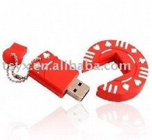 USB Flash Drive style poker chip