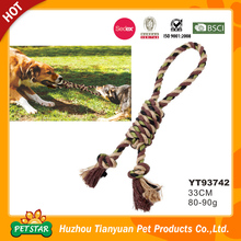 Designer High Quality Fabric Weave 33CM Rope Chew Toy Dog