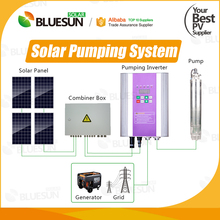 5hp 10hp lorentz solar water pump solar submersible pump system