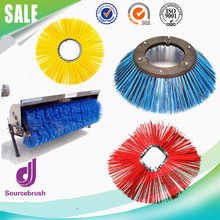 custom filament road street rotary PP sweeper cleaning brush manufacturer