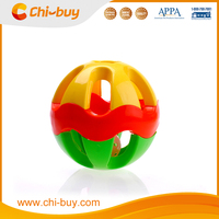 Chi-buy High Quality Plastic Squeaky Pet Toy Ringing Ball Dog toys Cat toys Free Shipping on order 49usd