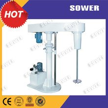 high speed dispersion machine, paint disperser paint dissolve mixer with two axles