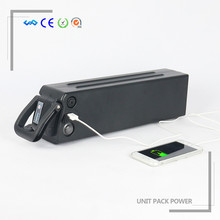 Rechargeable Li-ion 18650 10S5P E-bike Battery 36V 13Ah li ion battery with charger