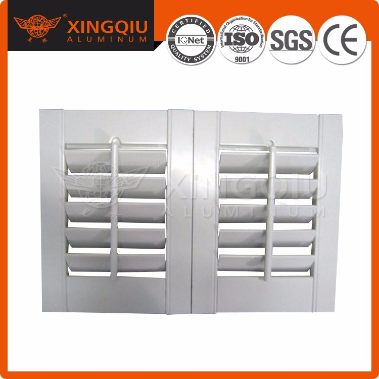 moveable shutter window aluminum alloy louver profile