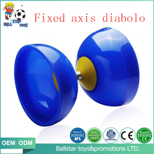 Hot slling plastic fixed axis funny juggling diabolo yoyo set <strong>toys</strong> with sticks