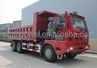 SINOTRUK manufacturer 10-wheel HOWO tipper Dump truck for sale